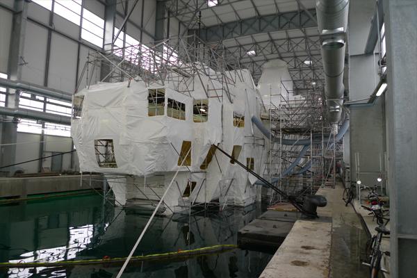 Hangar bateaux marseille 13 ai project architecte marseille paca - Cout construction hangar ...
